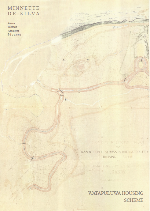 zine cover: text on top and bottom right corners over a yellowed, faded map