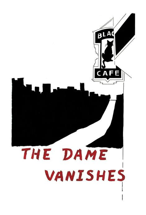 zine cover: The Dame Vanishes