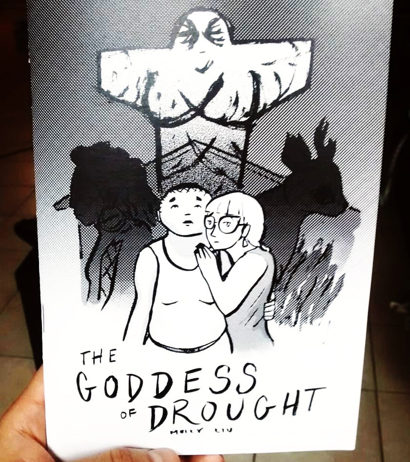 zine cover: The Goddess of Drought