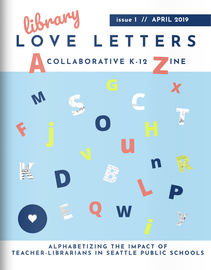 zine cover: Library Love Letters #1