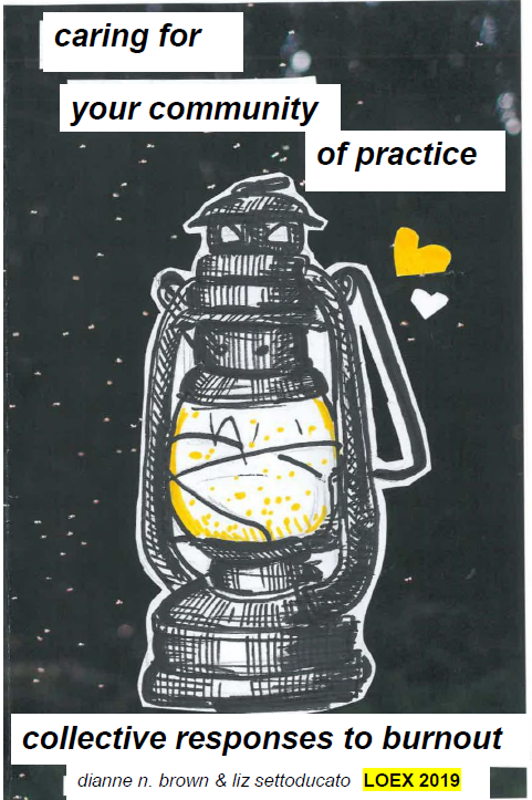 cover of Caring for Your Community of Practice zine